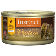 Instinct Cat Ultimate Protein GF Chicken 24/3oz Cans
