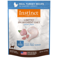 Instinct Cat GF LID Real Turkey 24/3 oz Pouch