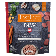 Instinct Raw Dog Natural Beef Bites 8 oz