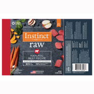 Instinct Raw Dog Natural Beef Chub 5 lb