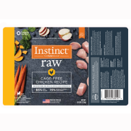 Instinct Raw Dog CageFree Chkn Chub 5lb