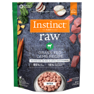 Instinct Raw Dog GrassFed Lamb Bites 2.7 lb