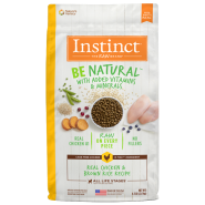 Instinct Dog Be Natural Real Chicken & Brown Rice 4.5 lb