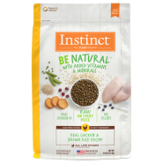 Instinct Dog Be Natural Real Chicken & Brown Rice 12 lb