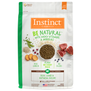 Instinct Dog Be Natural Real Lamb & Oatmeal 12 lb