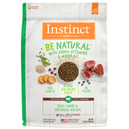 Instinct Dog Be Natural Real Lamb & Oatmeal 24 lb