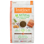 Instinct Dog Be Natural Real Salmon & Brown Rice 4.5 lb
