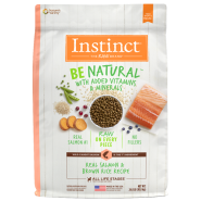 Instinct Dog Be Natural Real Salmon & Brown Rice 24 lb