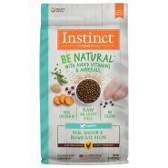 Instinct Dog Be Natural Puppy CageFree Chkn & BnRice 4.5 lb