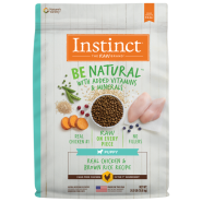 Instinct Dog Be Natural Puppy CageFree Chkn & BnRice 24 lb