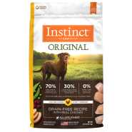 Instinct Original GF Dog Chicken 22.5 lb