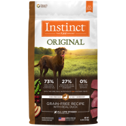 Instinct Original GF Dog Duck 4 lb
