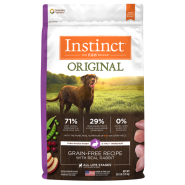 Instinct Original GF Dog Rabbit 20 lb