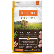 Instinct Cat Original GF Kibble CageFree Chicken 11 lb