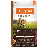 Instinct Cat Original GF Kibble CageFree Duck 4.5 lb