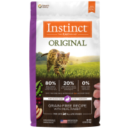 Instinct Cat Original GF Kibble FarmRaised Rabbit 4.5 lb