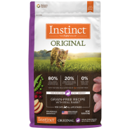 Instinct Cat Original GF Kibble FarmRaised Rabbit 10 lb
