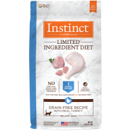 Instinct Cat GF LID Kibble CageFree Turkey 5 lb