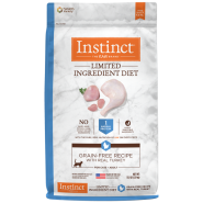 Instinct Cat GF LID Kibble CageFree Turkey 11 lb
