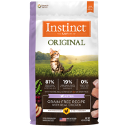Instinct Cat Original GF Kibble Chicken Kitten 4.5 lb