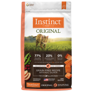 Instinct Cat Original GF Kibble WildCaught Salmon 10 lb