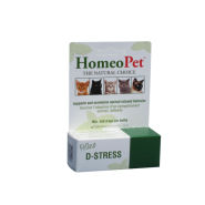 HomeoPet Cat D-Sress Anxiety Relief 15 ml
