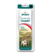 Sporn Double Dog Coupler Black Medium - XLarge