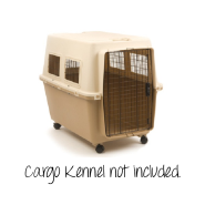 PrecisionCargo Kennel Wheel Pack