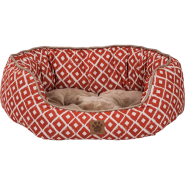 Snz Ikat Daydreamer Bed Orange 26x22x9.5""