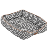 Snz Ikat Drawer Bed Grey 24x18x6""