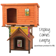 Precision Outback Dog House Display