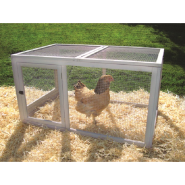 Precision Chicken Coop Backyard Barn Wire Pen 47x29x25