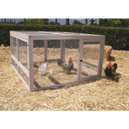 Precision Chicken Coop Hen Den Wire Pen 55x52x30
