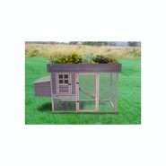 Precision Chicken Coop Hen House Garden Top Accessory