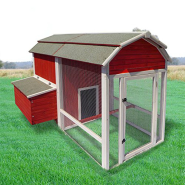 Precision Chicken Coop Old Red Barn 52x78x51