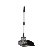 Precision Heavy Duty Poop Scoop Small Pan w/ Rake