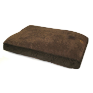 "Precision Floor Pillow 30 x 40"" Choc Suede Wide Chnille"