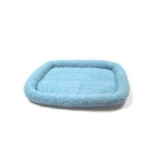 Precision 2000 SnooZZy Fleece Crate Bed Blue 25 x 20""