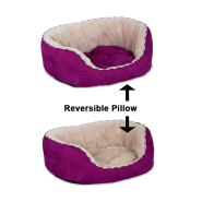 Precision Snoozzy Pillow Daydreamer 26x22x10 Purple Corduroy