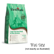 FirstMate Dog GFriendly Cage Free Duck & Oats Trial 25/80 gm