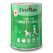 FirstMate Dog LID GF Can Turkey 12/12.2 oz