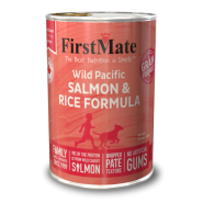 FirstMate Dog GFriendly Wild Salmon/Rice 12/12.2 oz