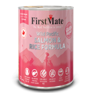 FirstMate Cat GFriendly Wild Pacific Salmon/Rice 12/12.2 oz