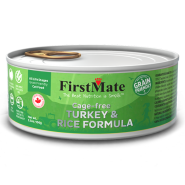 FirstMate Cat GFriendly Cage Free Turkey/Rice 24/5.5 oz
