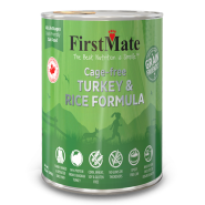 FirstMate Cat GFriendly Cage Free Turkey/Rice 12/12.2 oz