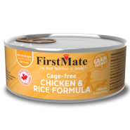 FirstMate Cat GFriendly Cage Free Chicken/Rice 24/5.5 oz