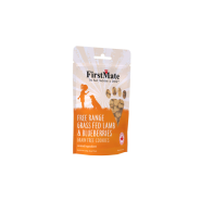 FirstMate Dog LID GF FRange Lamb/Blueberries Cookies 8 oz