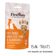 FirstMate Dog LID GF Lamb/Blueberries Cookies Bulk 10 lb