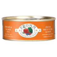 Four-Star Cat Chicken & Salmon Pate 12/5.5 oz