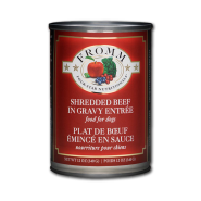 Fromm Dog Four-Star Shredded Beef Entree 12/12 oz